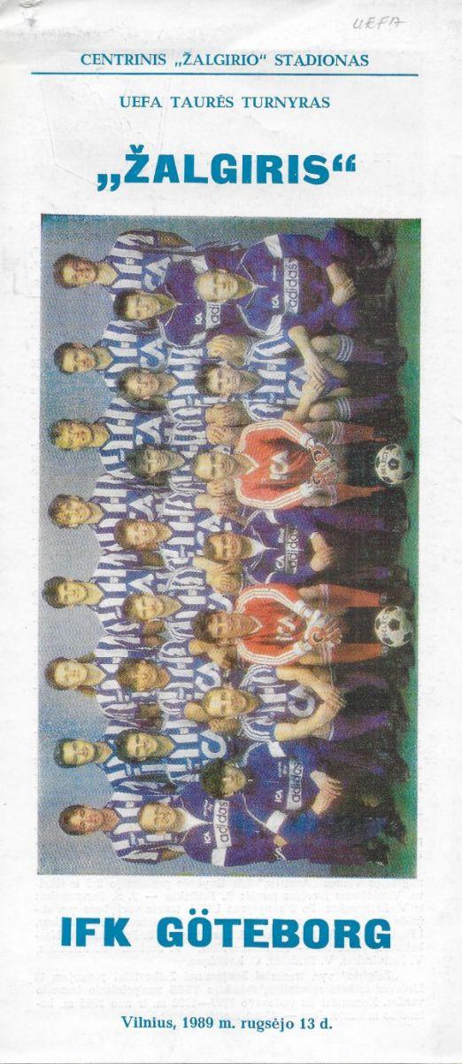 Zalgiris-IFK_Goeteborg-1989